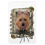 Fathers Day - Stone Paws - Australian Terrier Magnet