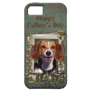 Fathers Day - Stone Paws - Beagle iPhone 5 Covers