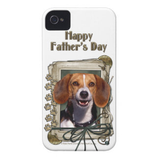 Fathers Day - Stone Paws - Beagle iPhone 4 Case-Mate Cases