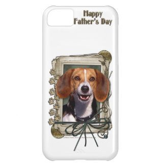 Fathers Day - Stone Paws - Beagle Case For iPhone 5C