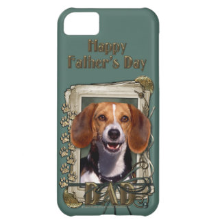 Fathers Day - Stone Paws - Beagle iPhone 5C Cover