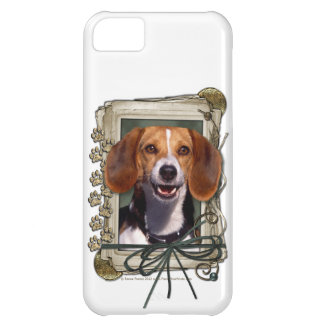 Fathers Day - Stone Paws - Beagle Cover For iPhone 5C