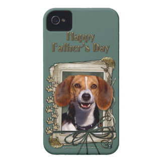 Fathers Day - Stone Paws - Beagle iPhone 4 Covers