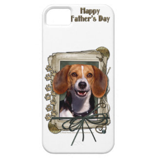 Fathers Day - Stone Paws - Beagle iPhone 5 Cover