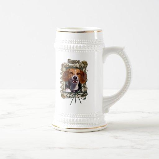 Fathers Day - Stone Paws - Beagle Coffee Mugs
