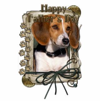 Fathers Day - Stone Paws - Beagle Cutout