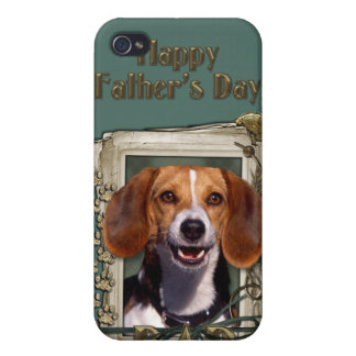 Fathers Day - Stone Paws - Beagle Covers For iPhone 4