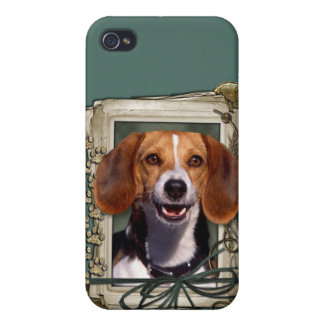 Fathers Day - Stone Paws - Beagle iPhone 4/4S Case