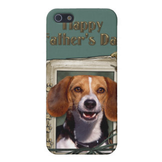Fathers Day - Stone Paws - Beagle iPhone 5 Case