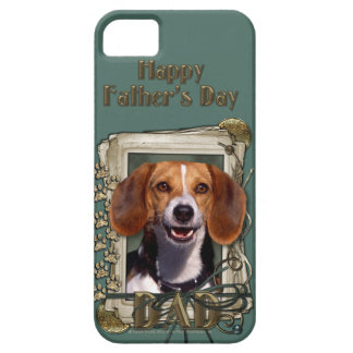 Fathers Day - Stone Paws - Beagle iPhone SE/5/5s Case