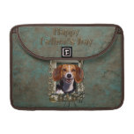 Fathers Day - Stone Paws - Beagle MacBook Pro Sleeves