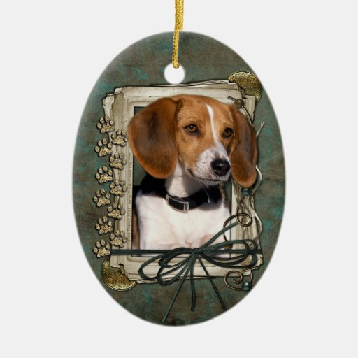 Fathers Day - Stone Paws - Beagle Christmas Ornaments