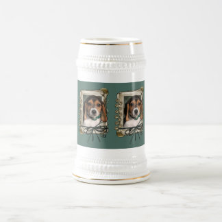 Fathers Day - Stone Paws - Beagle Puppy Beer Stein