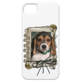Fathers Day - Stone Paws - Beagle Puppy iPhone 5 Case