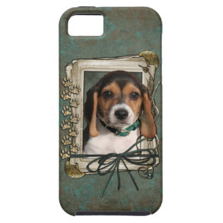 Fathers Day - Stone Paws - Beagle Puppy iPhone 5 Cases