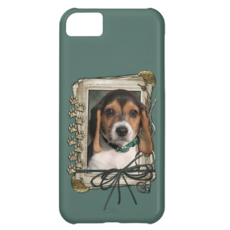 Fathers Day - Stone Paws - Beagle Puppy Cover For iPhone 5C