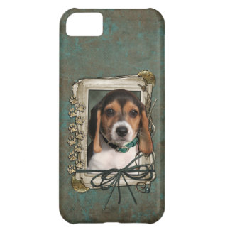 Fathers Day - Stone Paws - Beagle Puppy iPhone 5C Case