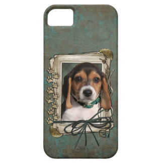 Fathers Day - Stone Paws - Beagle Puppy iPhone 5 Cover