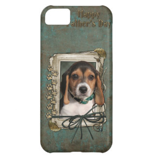 Fathers Day - Stone Paws - Beagle Puppy Case For iPhone 5C
