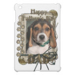 Fathers Day - Stone Paws - Beagle Puppy - Dad iPad Mini Cover