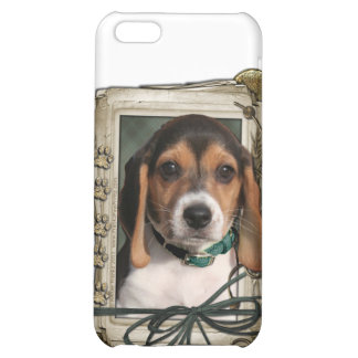Fathers Day - Stone Paws - Beagle Puppy iPhone 5C Covers