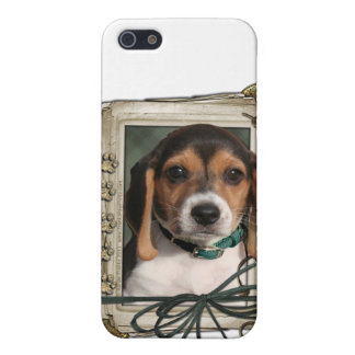 Fathers Day - Stone Paws - Beagle Puppy Cases For iPhone 5