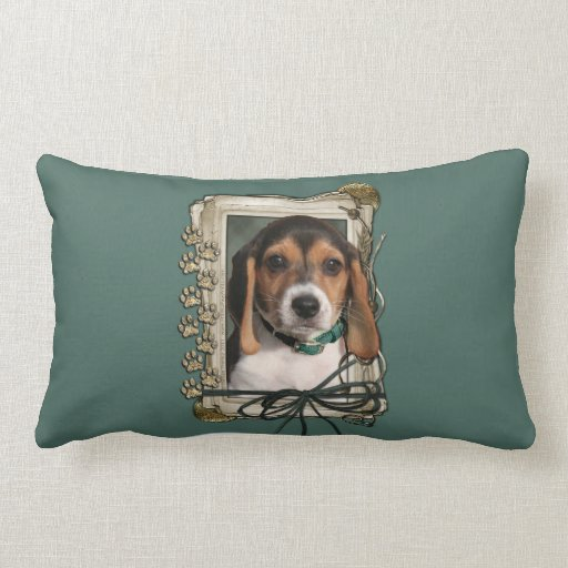 Fathers Day - Stone Paws - Beagle Puppy Pillows