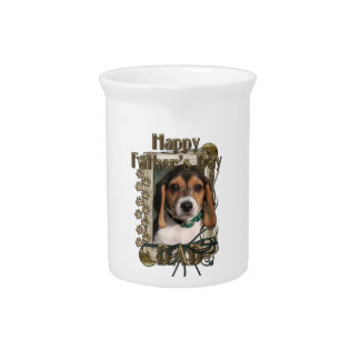 Fathers Day - Stone Paws - Beagle Puppy Pitchers