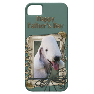 Fathers Day - Stone Paws - Bedlington Terrier iPhone SE/5/5s Case