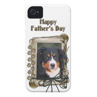 Fathers Day - Stone Paws - Bernese Mountain Dog iPhone 4 Cases