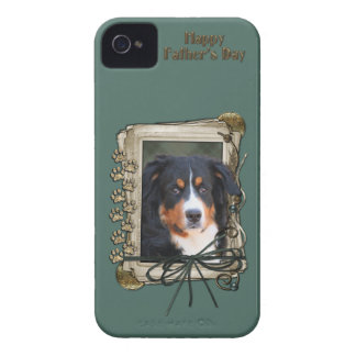Fathers Day - Stone Paws - Bernese Mountain Dog Case-Mate iPhone 4 Cases