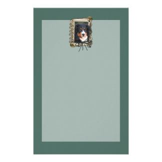 Fathers Day - Stone Paws - Bernese Mountain Dog Stationery