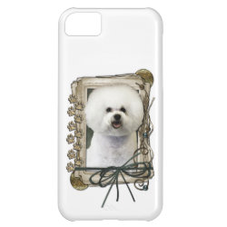 Case-Mate Barely There iPhone 5C Case with Bichon Frise Phone Cases design