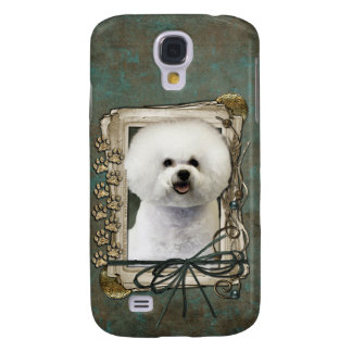 Fathers Day - Stone Paws - Bichon Frise Samsung Galaxy S4 Cover