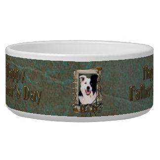 Fathers Day - Stone Paws - Border Collie Bowl