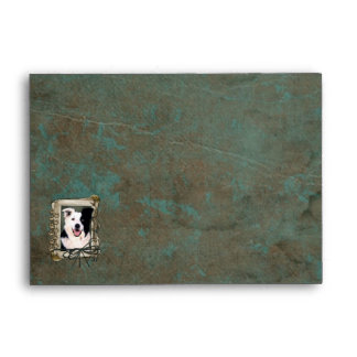 Fathers Day - Stone Paws - Border Collie Envelope