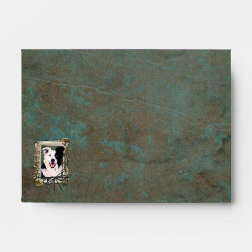 Fathers Day - Stone Paws - Border Collie Envelopes