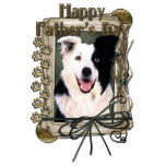 Fathers Day - Stone Paws - Border Collie Photo Cutout
