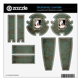 Fathers Day - Stone Paws - Border Collie Skullcandy Skin
