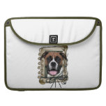 Fathers Day - Stone Paws - Boxer - Vindy MacBook Pro Sleeve