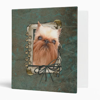 Fathers Day - Stone Paws - Brussels Griffon Binder