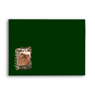 Fathers Day - Stone Paws - Brussels Griffon - Dad Envelope