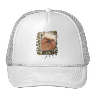 Fathers Day - Stone Paws - Brussels Griffon - Dad Hats
