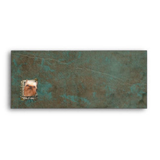 Fathers Day - Stone Paws - Brussels Griffon Envelope