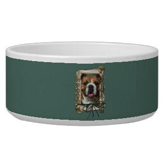 Fathers Day - Stone Paws - Bulldog Bowl