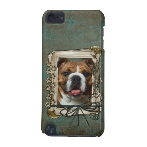 Fathers Day - Stone Paws - Bulldog iPod Touch (5th Generation) Case