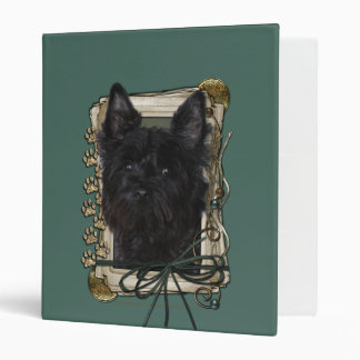 Fathers Day - Stone Paws - Cairn - Rosco 3 Ring Binders