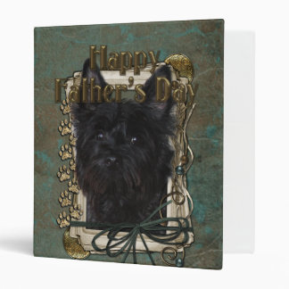 Fathers Day - Stone Paws - Cairn - Rosco Vinyl Binder