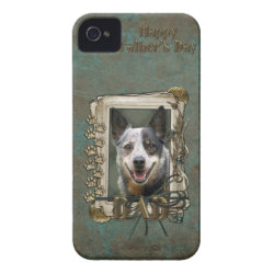 Case-Mate iPhone 4 Barely There Universal Case with Australian Cattle Dog Phone Cases design