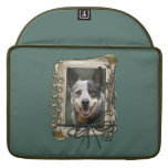 Fathers Day - Stone Paws - Cattle Dog MacBook Pro Sleeve